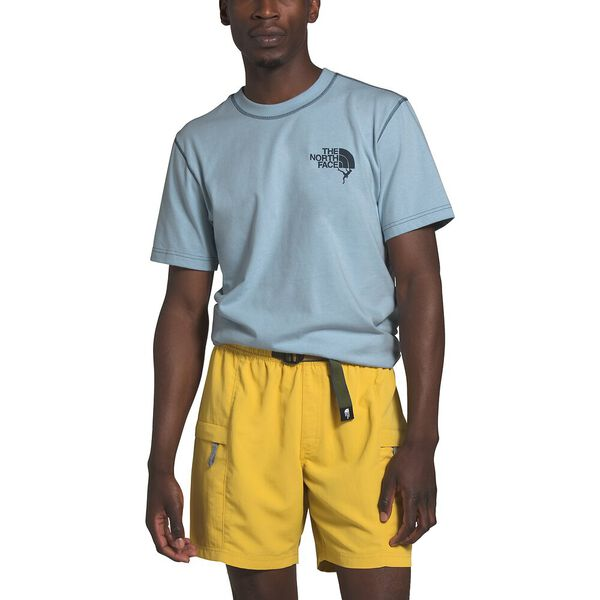 Blue Wing Teal The North Face Womens Short Sleeve Simple Dome Tee