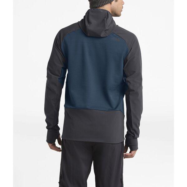 Men's Respirator Mid-Layer, BLUE WING TEAL/WEATHERED BLACK, hi-res