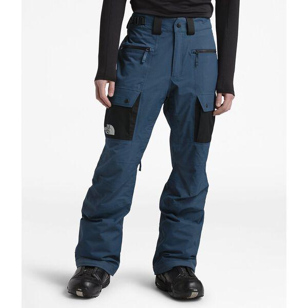 Men's Slashback Cargo Ski Pants, BLUE WING TEAL/TNF BLACK, hi-res