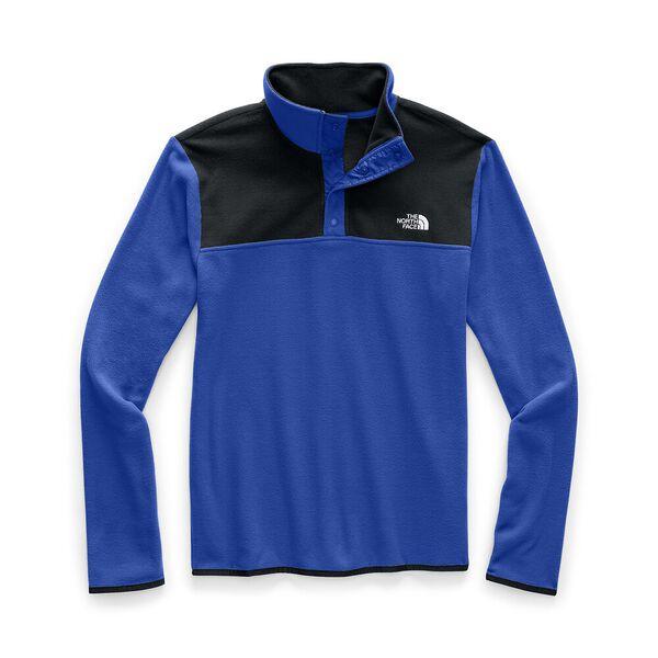 Men's TKA Glacier Snap-Neck Fleece, TNF BLUE/TNF BLACK, hi-res