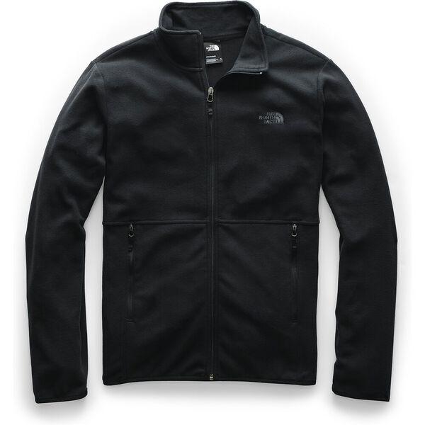 Men's TKA Glacier Full Zip Jacket, TNF BLACK/TNF BLACK, hi-res