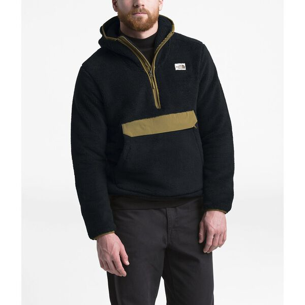 Men's Campshire Pullover Hoodie, TNF BLACK/BRITISH KHAKI, hi-res
