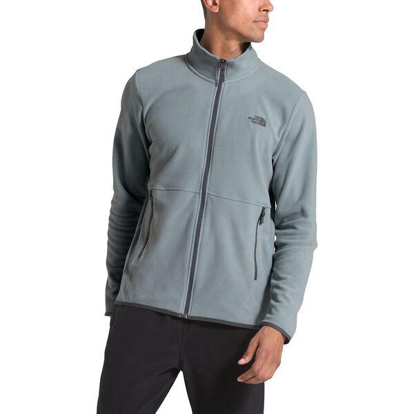 Men's TKA Glacier Full Zip Jacket, MID GREY/MID GREY, hi-res