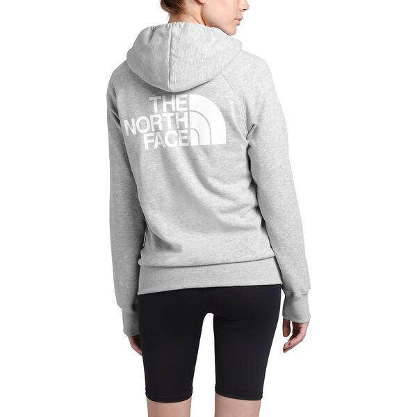 Women's Half Dome Full Zip Hoodie, TNF LIGHT GREY HEATHER, hi-res
