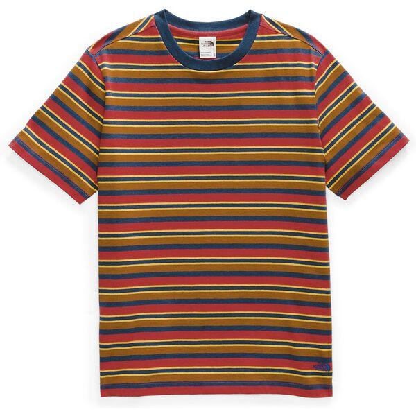 Men's Short-Sleeve Berkeley Stripe Tee, POMPEIAN RED CREEKSIDE STRIPE, hi-res