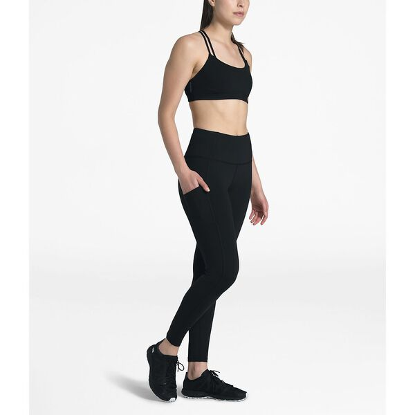 Women's Motivation High-Rise Pocket 7/8 Tight, TNF BLACK, hi-res