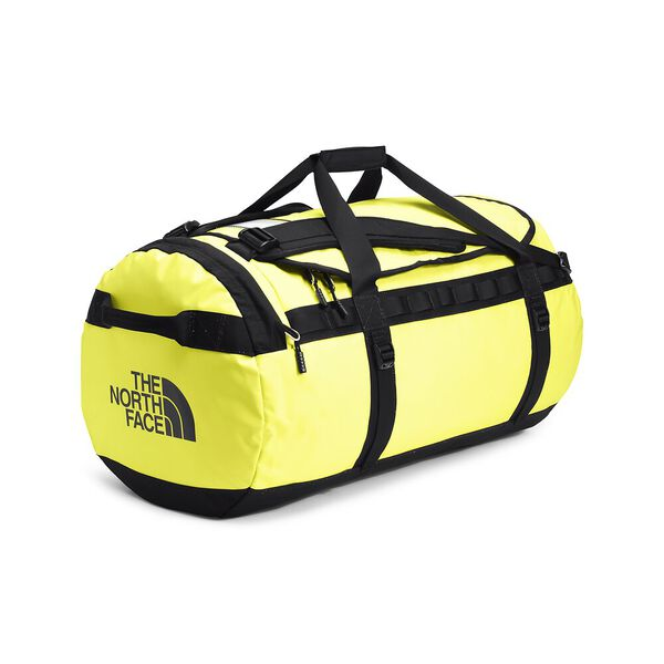 Base Camp Duffel - L, SULPHUR SPRING GREEN/TNF BLACK, hi-res