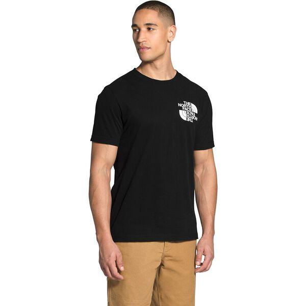 Men's Short-Sleeve Double Dome Tee, TNF BLACK, hi-res