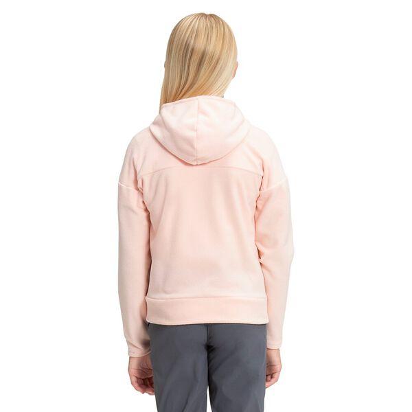Girls' TKA Glacier Fleece Full Zip Hoodie, PEARL BLUSH, hi-res