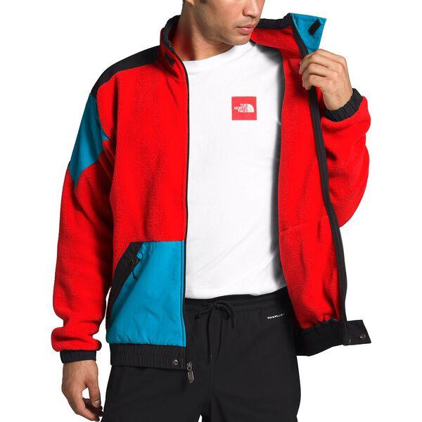 90 Extreme Fleece Full Zip Jacket, FIERY RED COMBO, hi-res