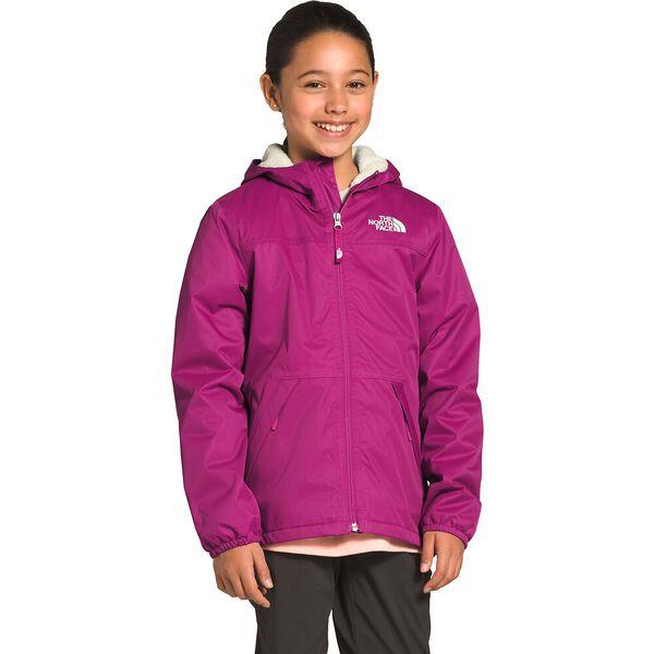 Girls' Warm Storm Rain Jacket