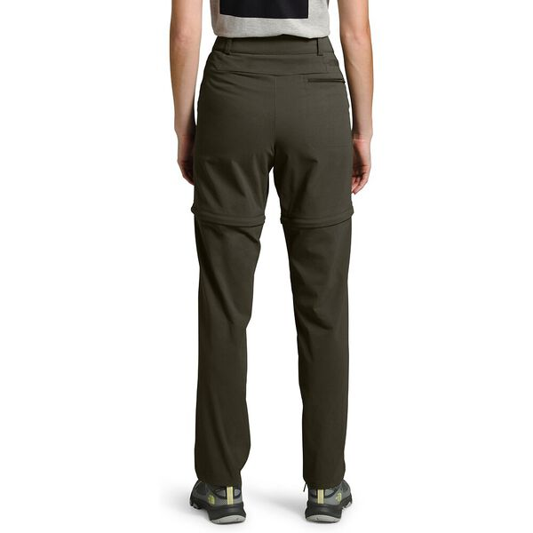 Women's Paramount Active Convertible Mid-Rise Pants, NEW TAUPE GREEN, hi-res