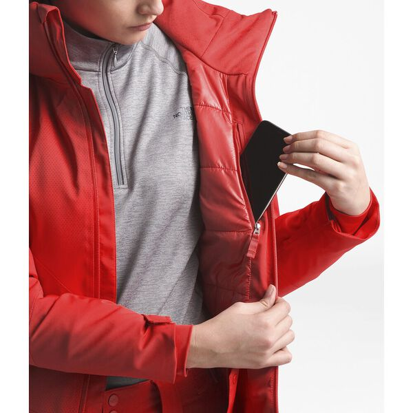 Women's Lenado Jacket, FIERY RED, hi-res