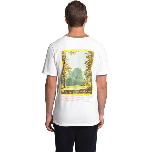 Men's Short-Sleeve Rogue Graphic Tee 1, TNF WHITE/UTILITY BROWN, hi-res