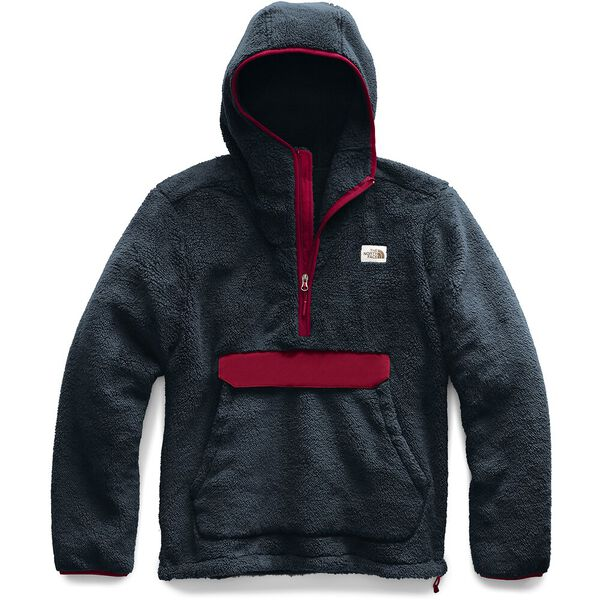 MEN'S CAMPSHIRE HOODIE, URBAN NAVY/CARDINAL RED, hi-res