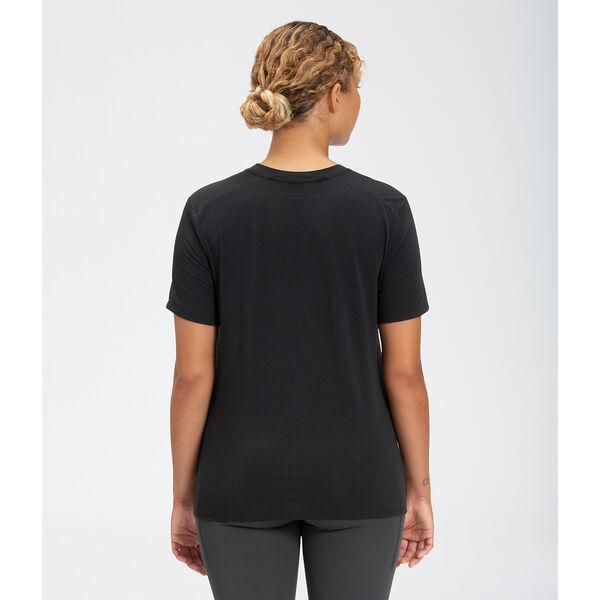 Women's Wander Short-Sleeve, TNF BLACK, hi-res
