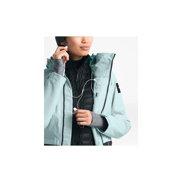 Women's Superlu Jacket, CLOUD BLUE/TNF BLACK, hi-res