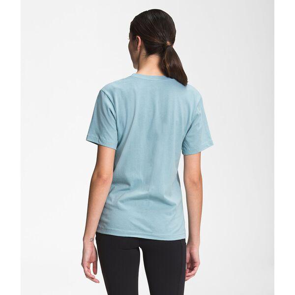Women's Short-Sleeve Half Dome Cotton Tee, TOURMALINE BLUE, hi-res