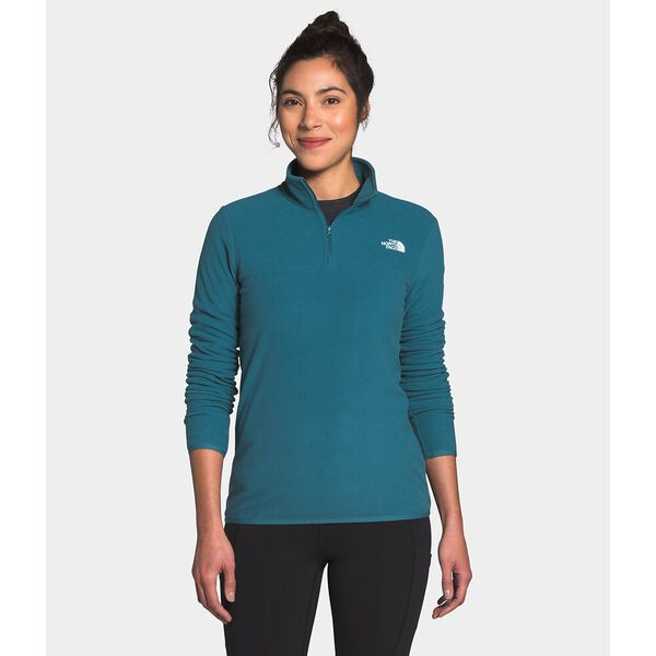 Women's TKA Glacier ¼ Zip, MALLARD BLUE, hi-res