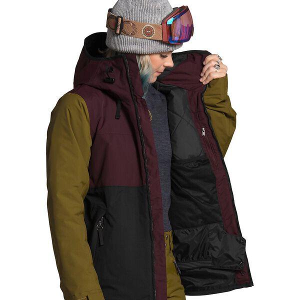 Women's Superlu Jacket, TNF BLACK/ROOT BROWN, hi-res