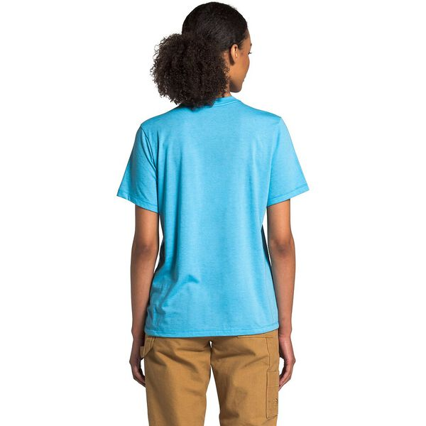 Women's Short-Sleeve Bearinda Graphic Tee, ETHEREAL BLUE HEATHER, hi-res