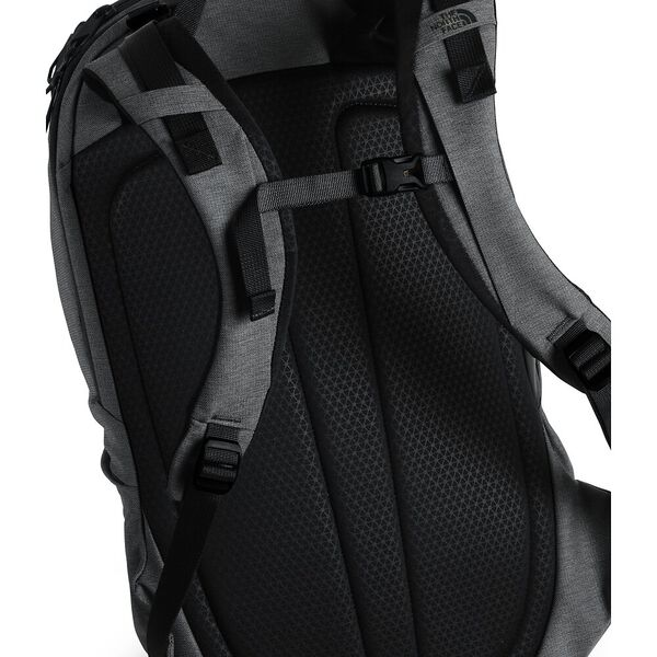 WOMEN'S AURORA BACKPACK, ASPHALT GREY LIGHT HEATHER/TNF BLACK, hi-res
