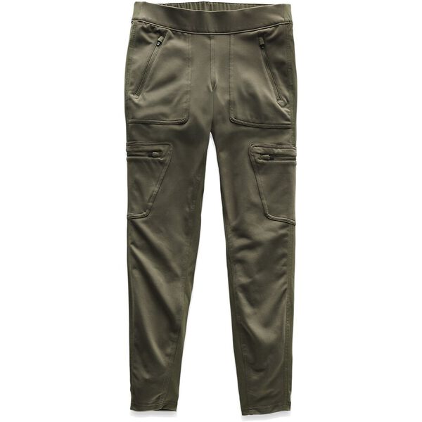 WOMEN'S UTILITY HYBRID HIKER TIGHT, NEW TAUPE GREEN, hi-res