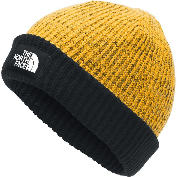 Salty Dog Beanie, TNF YELLOW/TNF BLACK, hi-res