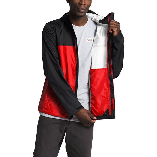 Men's Venture 2 Jacket, FIERY RED/TNF BLACK/TNF WHITE, hi-res