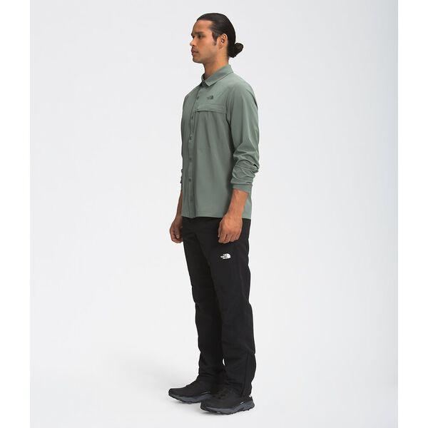 Men's First Trail UPF Long-Sleeve Shirt, AGAVE GREEN, hi-res
