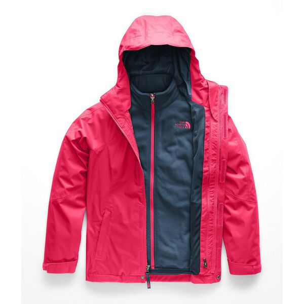 GIRLS' MOUNTAIN VIEW TRICLIMATE® JACKET, ATOMIC PINK, hi-res