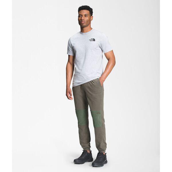 Men's TKA Glacier Fleece Pants, NEW TAUPE GREEN-THYME, hi-res