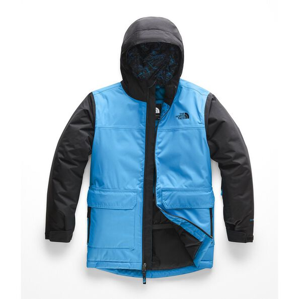 BOYS' FREEDOM INSULATED JACKET, HYPER BLUE, hi-res