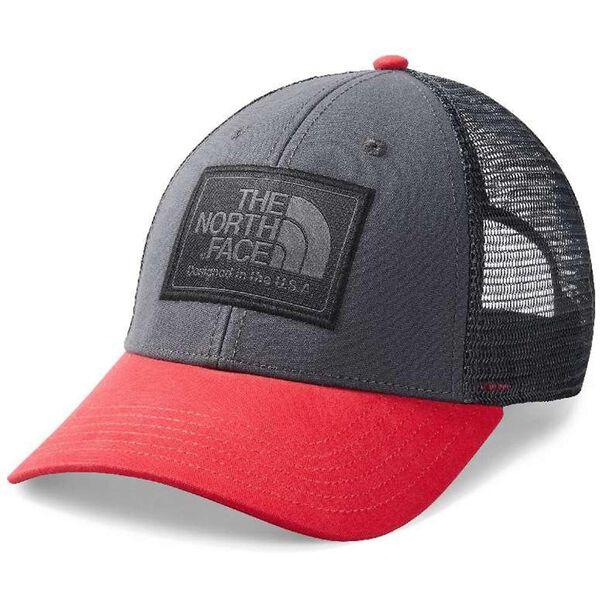 MUDDER TRUCKER HAT, CARDINAL RED/ASPHALT GREY, hi-res