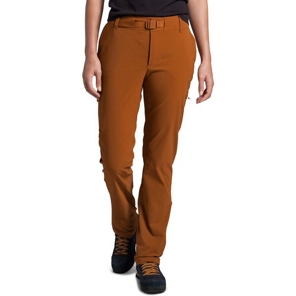 Women's Paramount Active Mid-Rise Pants, CARAMEL CAFE, hi-res