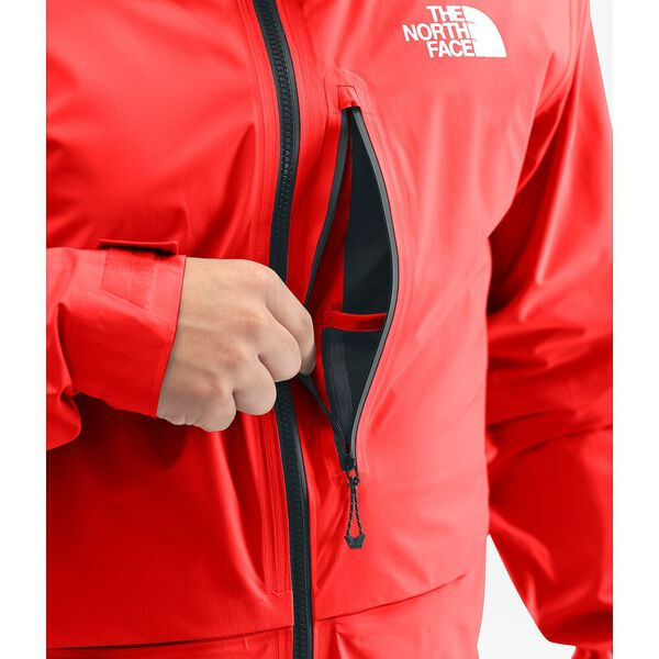 MEN'S SUMMIT L5 LT FUTURELIGHT™ JACKET, FIERY RED, hi-res