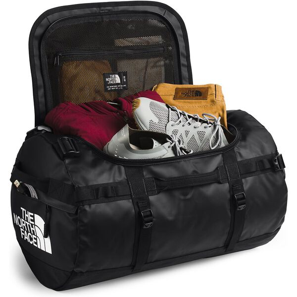Base Camp Duffel - S, TNF BLACK/TNF WHITE, hi-res