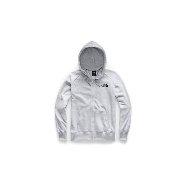 Women's Half Dome Full Zip Hoodie, TNF LIGHT GREY HEATHER/TNF BLACK, hi-res
