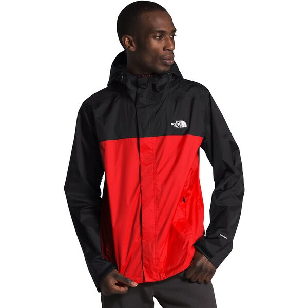 Men's Venture 2 Jacket, FIERY RED/TNF BLACK/TNF WHITE, hi-res