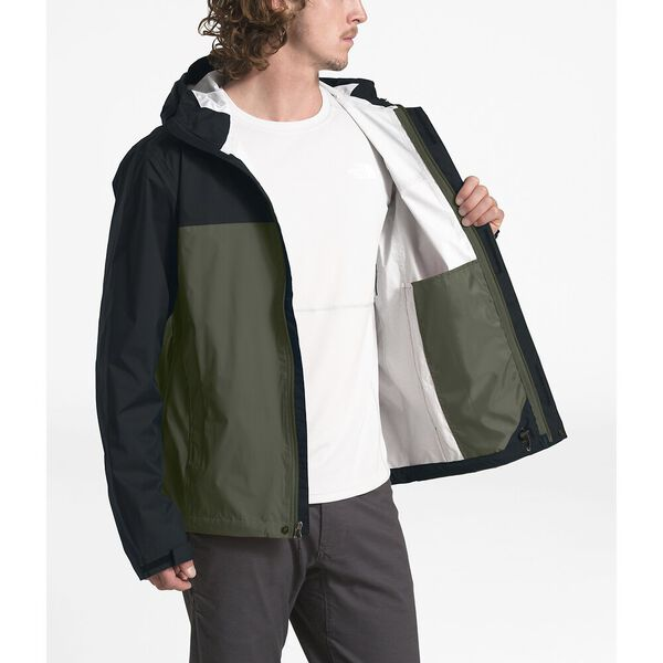 MEN'S VENTURE 2 JACKET, NEW TAUPE GREEN/TNF BLACK/TNF WHITE, hi-res