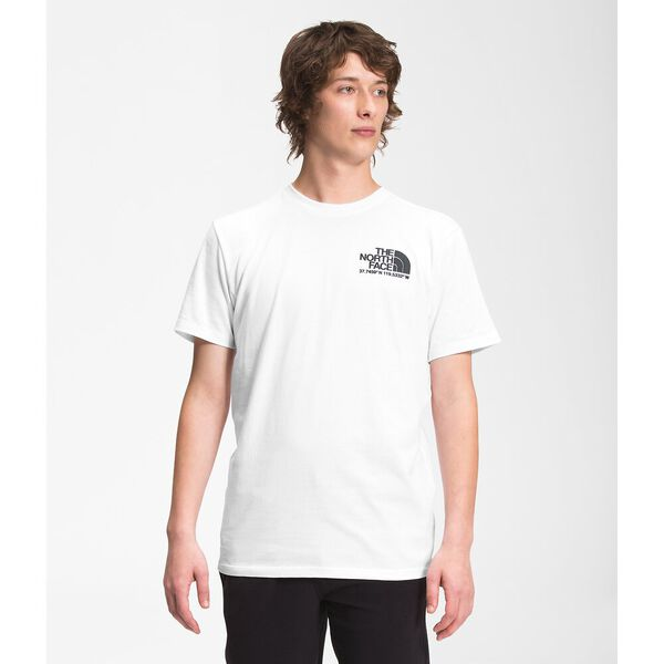 Men's Coordinates Short-Sleeve Tee, TNF WHITE, hi-res