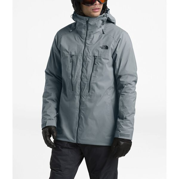 Men's Thermoball™ Eco Snow Triclimate® Jacket, MID GREY, hi-res