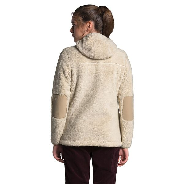 Women's Campshire Fleece Pullover Hoodie 2.0, BLEACHED SAND/HAWTHORNE KHAKI, hi-res
