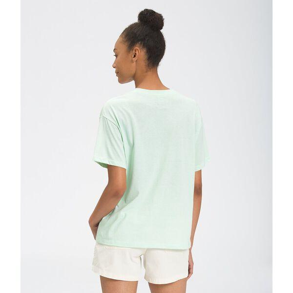Women's Short-Sleeve Half Dome Tri-Blend Tee, MISTY JADE HEATHER, hi-res