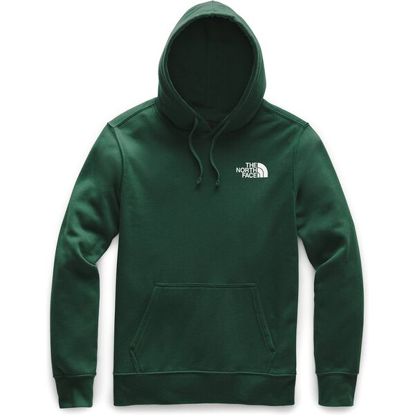 MEN'S RED BOX PULLOVER HOODIE, NIGHT GREEN/TNF BLACK, hi-res