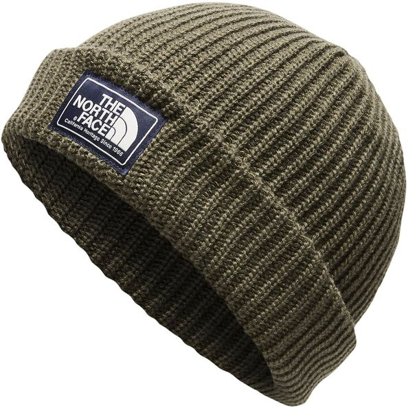 SALTY DOG BEANIE, NEW TAUPE GREEN/BURNT OLIVE MARL, hi-res