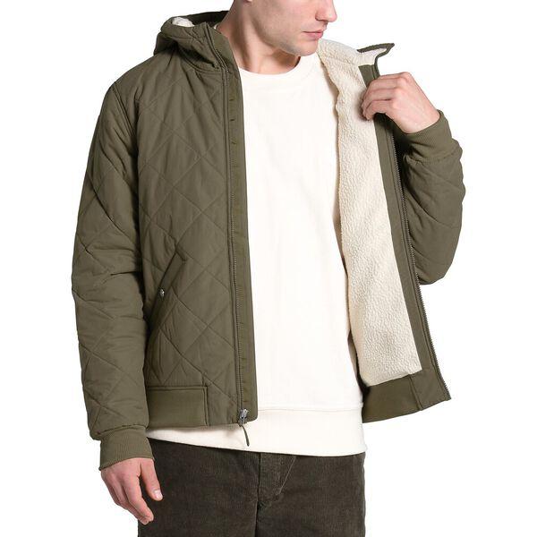 Men's Cuchillo Fleece Insulated Full Zip Hoodie, BURNT OLIVE GREEN, hi-res
