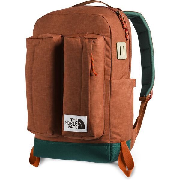 CREVASSE DAYPACK, PICANTE RED DARK HEATHER/NIGHT GREEN, hi-res