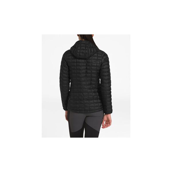 WOMEN'S THERMOBALL ECO HOODIE, TNF BLACK MATTE, hi-res