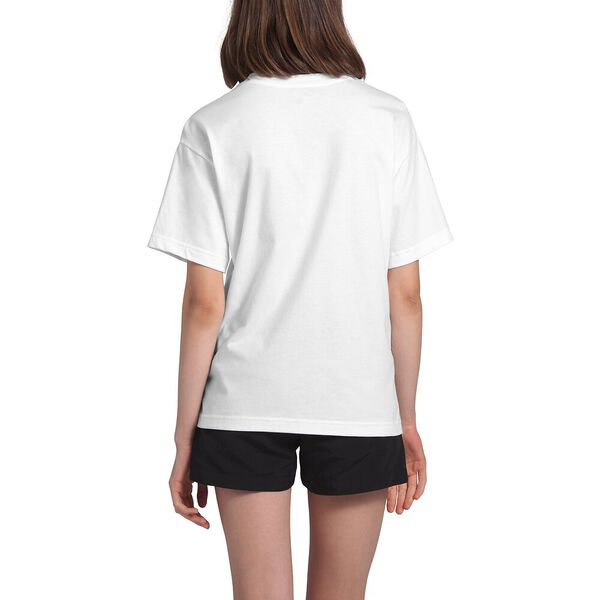 Women's Short-Sleeve Relaxed Pocket Tee, TNF WHITE, hi-res